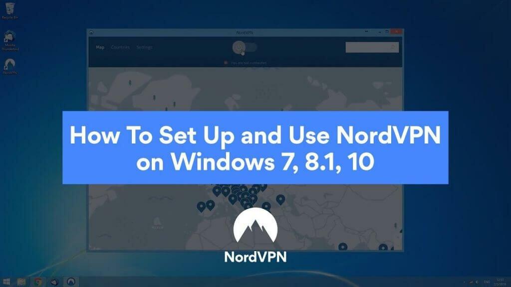 NordVPN的Windows官方中文使用配置指南教程